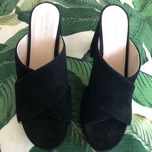 Cole Haan High Heeled Mules